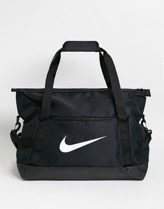Nike Football Academy duffel bag in black