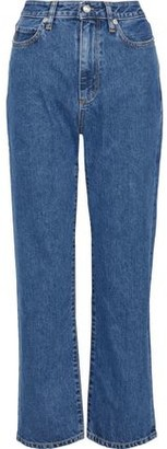Simon Miller W007 High-rise Straight-leg Jeans