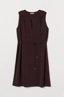 H&M Tie Belt Dress - Red