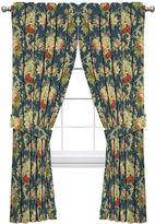Waverly Sanctuary Rose Rod-Pocket Curtain Panel