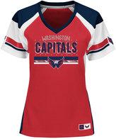 Majestic Women's Washington Capitals Ready to Win Shimmer Jersey