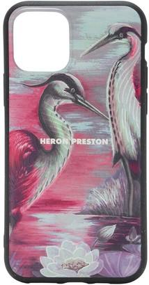 Heron Preston Logo Print Tech Iphone 11 Cover