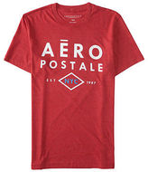 Aeropostale Mens Aero Nyc Diamond Logo Graphic T Shirt