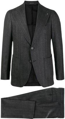 Tagliatore Pinstripe Single-Breasted Suit