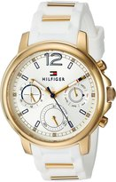 Tommy Hilfiger Women's 1781745 CLAUDIA Analog Display Quartz White Watch