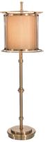 John-Richard Collection Three Ring Brass Accent Floor Lamp