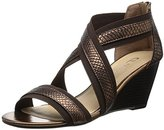 Chinese Laundry Women's Nia Snake-Gore Wedge Sandal