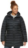 Columbia Plus Size Frosted Ice Hooded Puffer Jacket