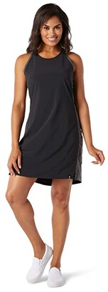 Smartwool Merino Sport Tank Dress (Black) Women's Dress
