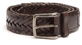 Tod's Woven Leather Belt