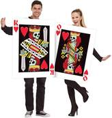 Fun World Costumes King and Queen Heart Playing Cards Couples Men and Women Costume
