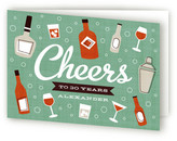 Minted Birthday Cheer Greeting Cards