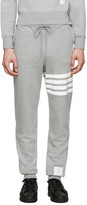 Thom Browne Grey Striped Lounge Pants