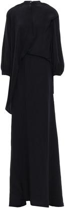 Chalayan Layered Silk Crepe De Chine Maxi Dress