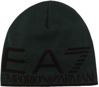 Giorgio Armani Ea7 Logo Beanie Hat
