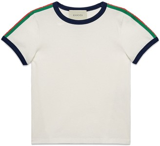 Gucci Kids Children's T-shirt with Kingsnake