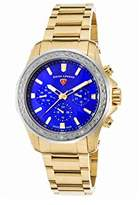 Swiss Legend Women's 'Islander' Quartz Stainless Steel Casual Watch, Color:Gold-Toned (Model: 16201SM-YG-33-SB)