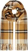 Max Mara Weekend Fumetto check long scarf