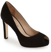 Via Spiga Women's 'Brandy' Peep Toe Pump