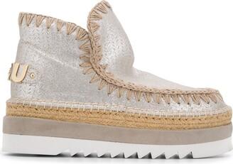 Mou Eskimo Metallic Sneakers