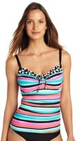 CoCo Reef Women's Palm Beach Mix Smooth Curves Tankini