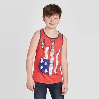 Cat & Jack Boys' Americana Graphic Tank Top - Cat & JackTM