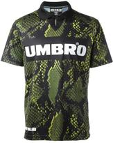 House of Holland x Umbro snakeskin print T-shirt