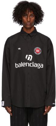 Balenciaga Black Soccer Shirt