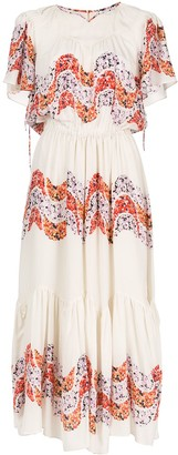 Isabel Marant Nimo silk midi dress