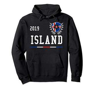 Iceland Football Jersey 2019 Icelandic Soccer Jersey Pullover Hoodie