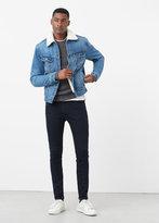MANGO MAN Slim-Fit Dark Wash Patrick Jeans