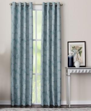 """Miller Curtains Mandera 50"""" x 63"""" Panel"""