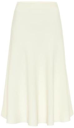 Valentino high-rise knit jersey midi skirt
