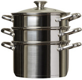N. Cook Home 4 Piece Stainless Steel Multi Pot Set
