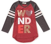 Jessica Simpson Big Girls 7-16 Neco V-Neck Wonder Tee
