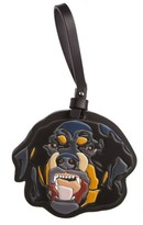 Givenchy Women's Rottweiler Bag Charm - Black