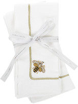Joanna Buchanan Bee Napkin - Set of 2 - White