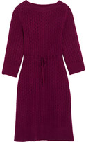 See by Chloe Crochet-knit Dress - Plum