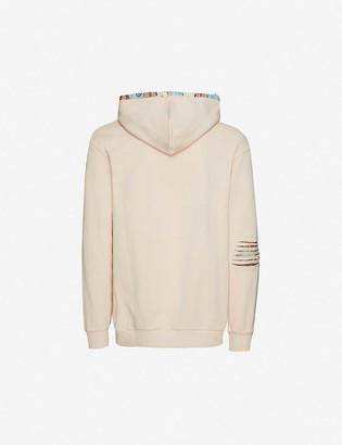 Alchemist Jacquard-pattern cotton-jersey hoody