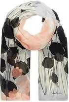 Max Mara Silk Printed Scarf, Pink, One Size