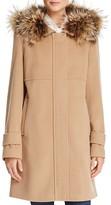 Basler Fur Trimmed Zip Coat