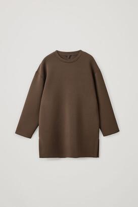 Cos Cocoon Scuba Sweatshirt
