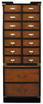 Houseology Authentic Models Collectors Cabinet With Drawers