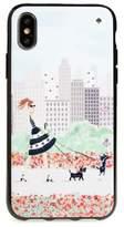 Kate Spade jeweled shopper iPhone X case