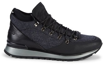 Karl Lagerfeld Paris Lace-Up Hiking Sneakers