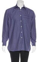 Lorenzini Check Woven Shirt w/ Tags