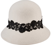 San Diego Hat Company Cloche Bucket Hat with Lace WFH8037 (Women's)