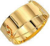Eddie Borgo Safety Chain Cuff Bracelet/Goldtone