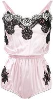 Dolce & Gabbana lace detail camisole - women - Silk/Cotton/Polyamide - II