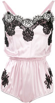 Dolce & Gabbana lace detail camisole - women - Silk/Cotton/Polyamide - IV